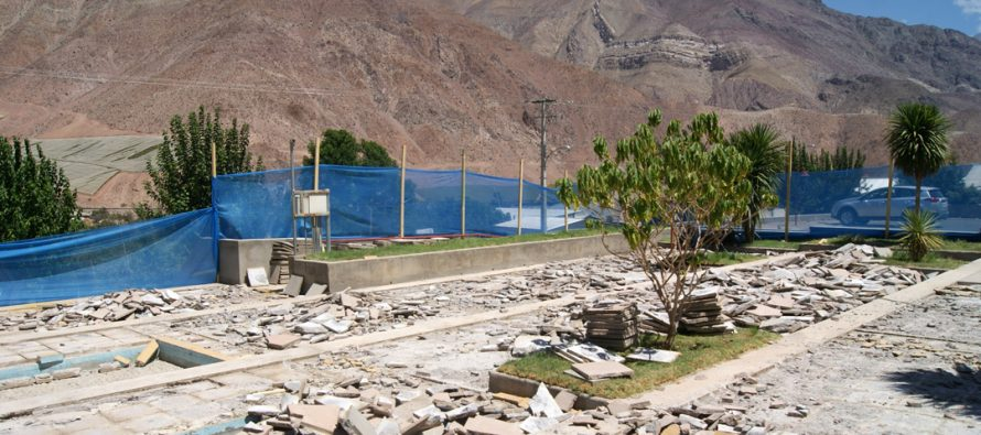 Realizan mejoras en estacionamiento de Centro de Salud Familiar de Paihuano