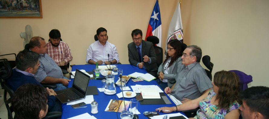 Seremi de Bienes Nacionales analizó proyectos con el concejo municipal de Paihuano