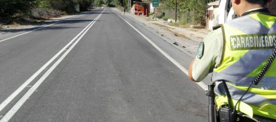 Carabineros de Paihuano cuenta con nueva pistola radar para control de tránsito
