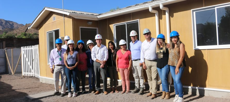 Familias de Vicuña conocieron modelo piloto de su futura vivienda