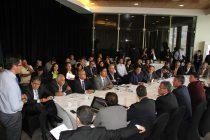 Intendente Ibáñez y alcaldes abordan avances de la reconstrucción y medidas contra la escasez hídrica