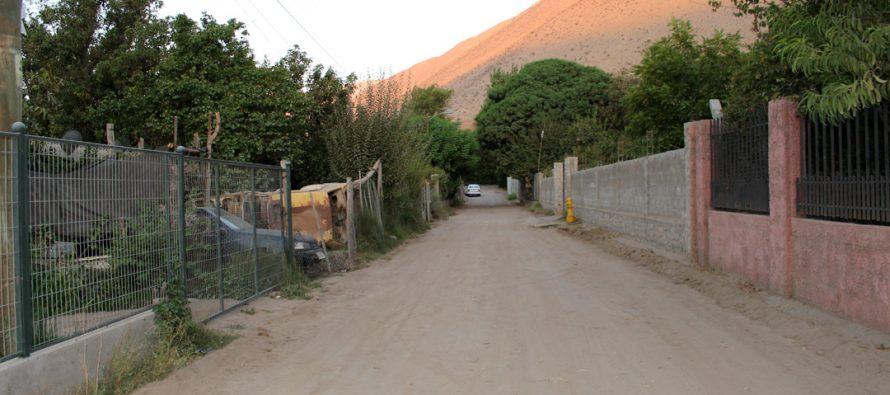 Localidades de la comuna concretan y proyectan pavimentación junto al municipio