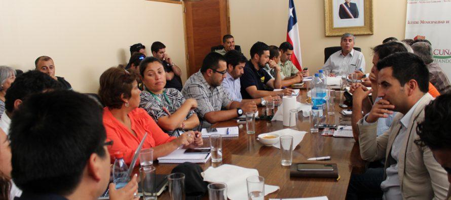 II Consejo Comunal de Seguridad Pública en Vicuña define los pasos a seguir este 2017