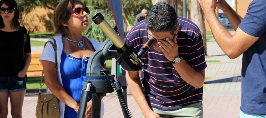 """Vicuña cierra el Mes de la Astronomía con celebración de la """"Tarde de las Estrellas"""""""