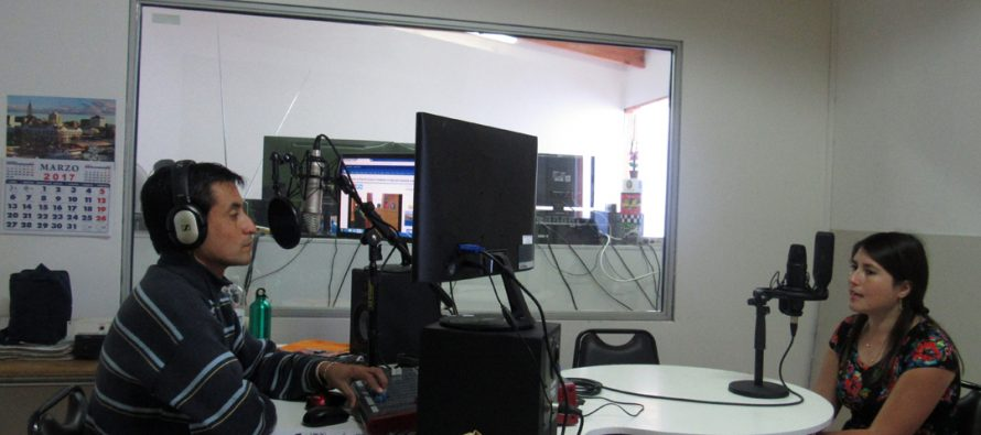 Directora Regional de Prodemu visita radios de Vicuña y da a conocer avances logrados en materia de género