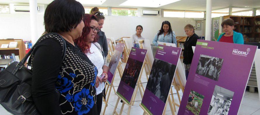 Exposición fotográfica en Vicuña revela las desigualdades que enfrentan las mujeres en el Chile actual