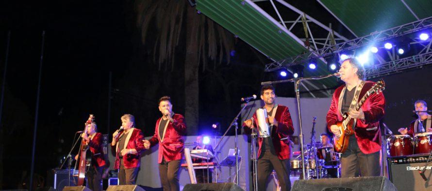 Los Viking´s 5 hicieron bailar a las mujeres en la celebración de su día en Vicuña