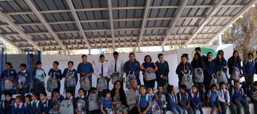 En Vicuña destacan aumento de matrículas en establecimientos de educación municipal