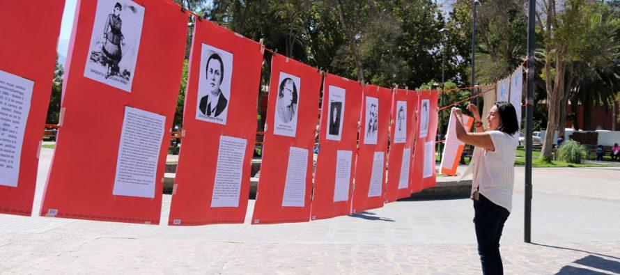 Con reflexiones en torno a la mujer actual se conmemoró en Vicuña un nuevo 8 de marzo