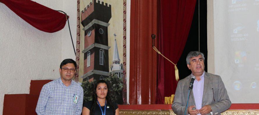 Funcionarios municipales se capacitan para ser parte del Censo 2017 en Vicuña