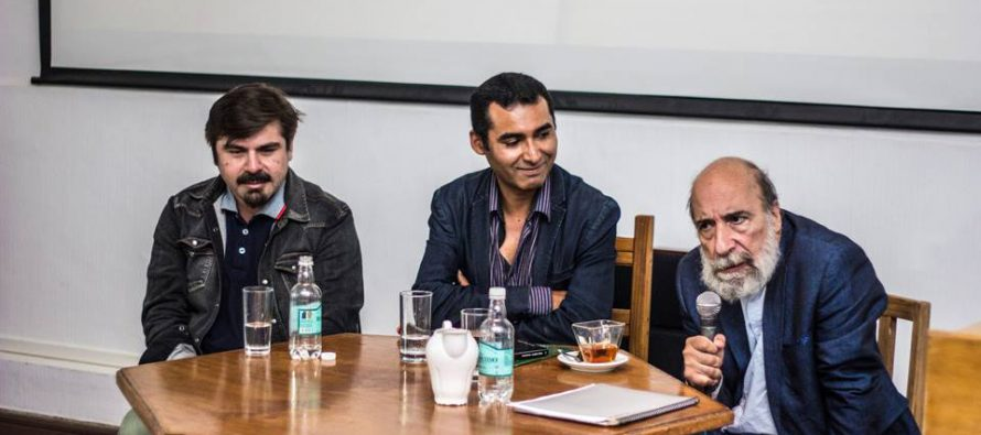 Raúl Zurita deleitó a los participantes con su testimonio y poesía en el Festival Mistraliano