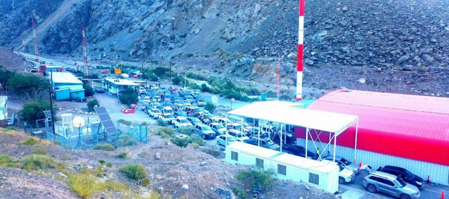 El Paso Agua Negra se mantiene 100% operativo y se prepara para Semana Santa