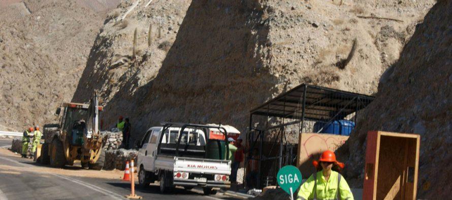 Preocupación debido a seguridad en trabajos de cuesta de Montegrande