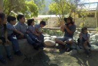Desarrollan proyecto de reutilización de aguas y huerta escolar en Diaguitas