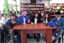 """Liceo de Vicuña inicia ciclo de """"Diálogos Estudiantiles"""" con visita de parlamentario"""