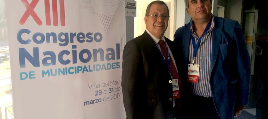 Alcalde de Vicuña asume como Director de la Asociación Chilena de Municipalidades