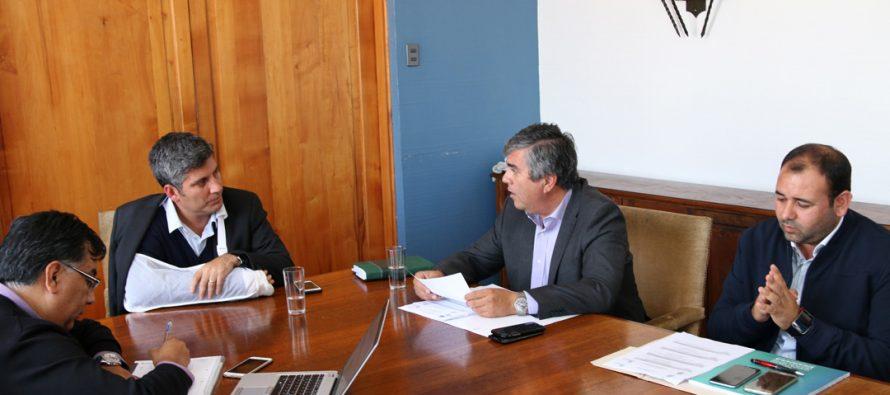 Intendente Regional y alcalde de Vicuña analizan concreción de proyectos para la comuna