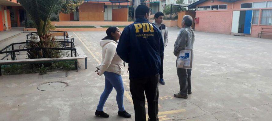 Detectives se encuentran desplegados para brindar seguridad a los censistas y la comunidad