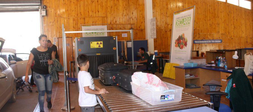 En casi un 200% aumentaron los productos de riesgo interceptados por el SAG en el control fronterizo Agua Negra