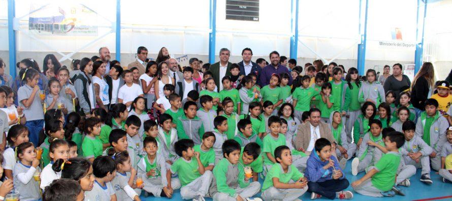Escuelas Saludables de JUNAEB benefician a más de 1.600 estudiantes de la comuna de Vicuña