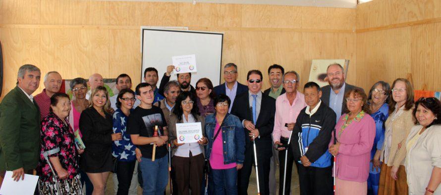 Agrupación de personas con discapacidad visual conmemora su primer año de vida en Vicuña
