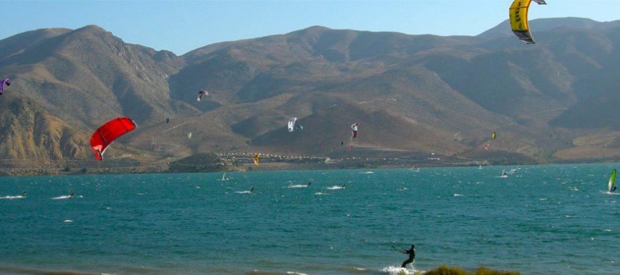Autoridades oficializan I Campeonato Binacional de Kitesurf entre Chile y Argentina
