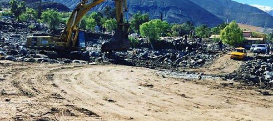 Restitución de caminos, ayuda a damnificados y postulación a proyectos marcan el día en Vicuña