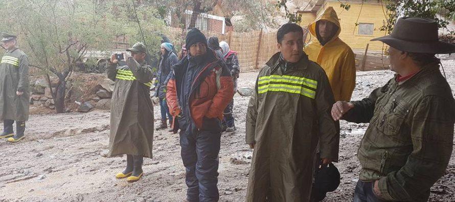 Paihuano resistió de buena forma las precipitaciones caída durante esta semana