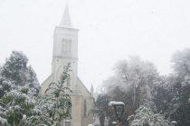 La nieve visitó nuevamente a localidades del Valle del Elqui