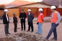 Luego de las lluvias evaluán realizar mejoras en nuevo colector de Sargento Aldea en  Vicuña
