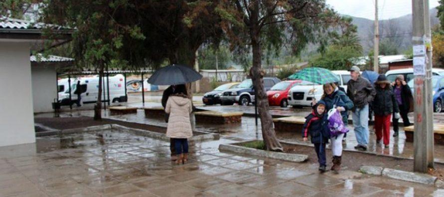 Precipitaciones se registrarán durante esta semana en el Valle del Elqui