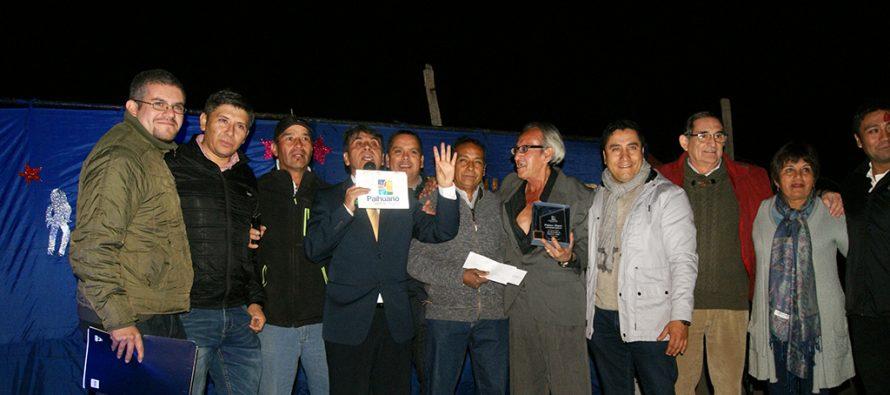Vicuña obtuvo el primer lugar en el Festival de la Voz Quebrada de Paihuano Canta