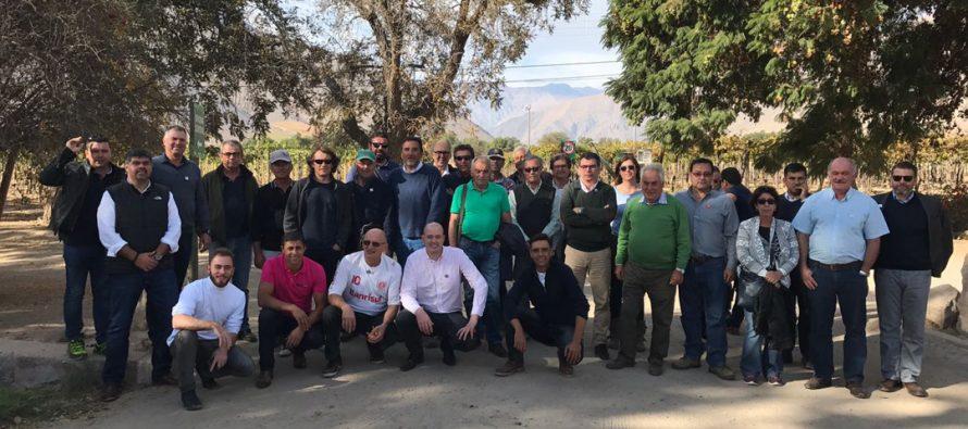 En Paihuano y Vicuña tuvo lugar la primera jornada del Foro Mundial de Cooperativas Vitivinícolas