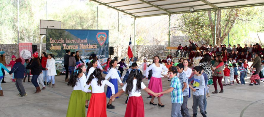 Escuela Intercultural de Diaguitas conmemora con diversos hitos el Día del Patrimonio