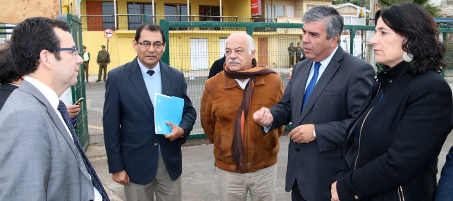 Ministro de Economía valora desarrollo del proyecto Barrio Comercial en Vicuña