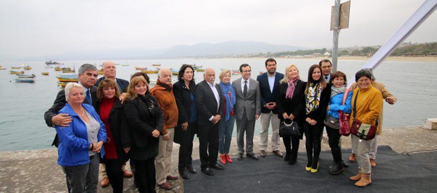 Vicuña participa en cuenta pública del Ministro de Economía realizada en Guanaqueros