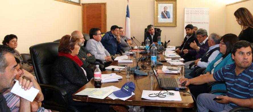 Analizan planes de emergencia hídrica e hidrometereológica para la comuna de Vicuña