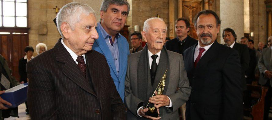 Asociación Chilena de Municipalidades destaca a Renán Fuentealba en su cumpleaños número 100