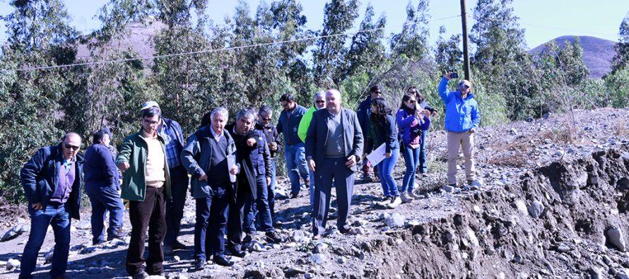 Subsecretario de Agricultura visita zona afectada por lluvias en el Valle del Elqui