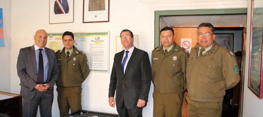 Nuevo generador eléctrico ayudará en días de lluvia y operativos en Tenencia de Paihuano