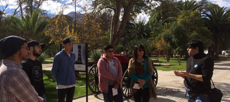 Con fotografías y visita guiada se vivió el Día del Patrimonio Cultural en Vicuña