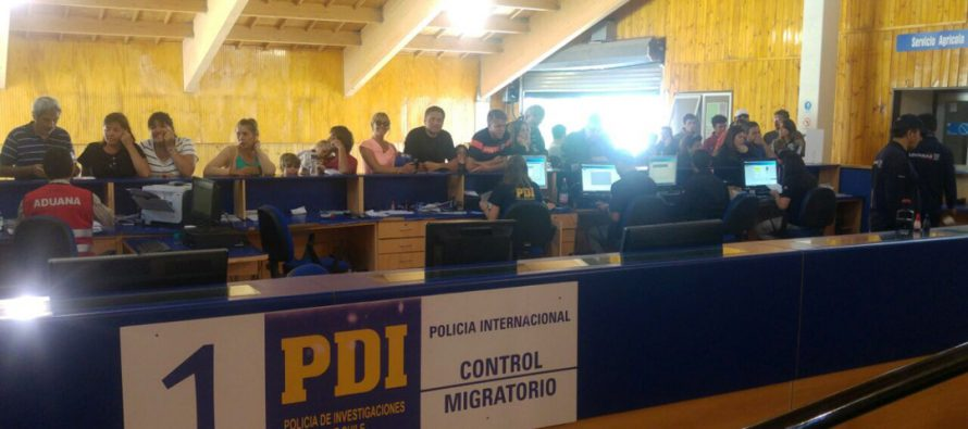 PDI realiza positivo balance del ingreso de extranjeros por el Paso Agua Negra