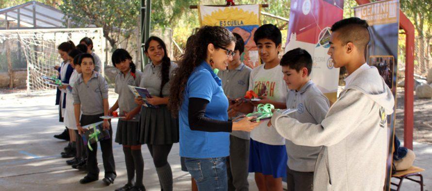 Liceo de Paihuano y Escuela de Rivadavia comenzaron sus trabajos con los Clubes de Astronomía