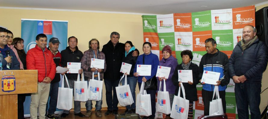 Familias de Vicuña recibieron kit de ahorro energético por parte del Ministerio de Energía