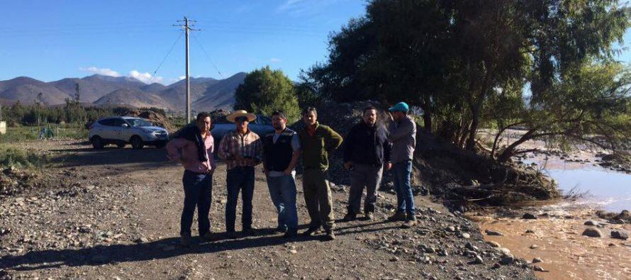 Seremi evalúa situación de agricultores afectados en el Valle del Elqui
