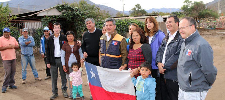 En Marquesa decretan Zona de Catástrofe para regiones de Coquimbo y Atacama
