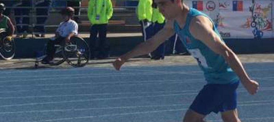 Atleta paralímpico de Vicuña destaca  en Juegos Deportivos Nacionales