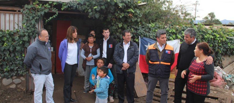 Gobierno decreta zona de catástrofe para la Región de Coquimbo por efectos del temporal
