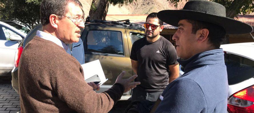 Gobernador de Elqui compromete acciones para Paihuano por último frente climático