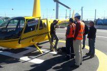 CONAFE lleva energía a sector La Viñita Alta de Vicuña con uso de helicóptero
